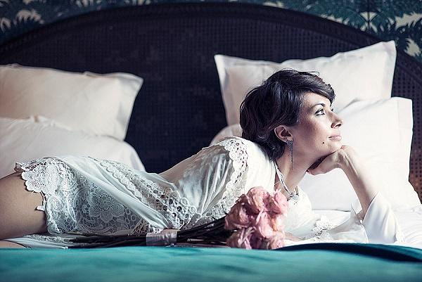Elegant boudoir styled shoot