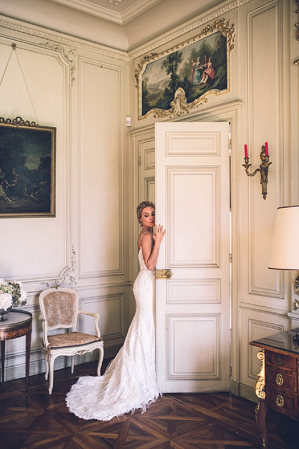 Glamorous French chateau wedding
