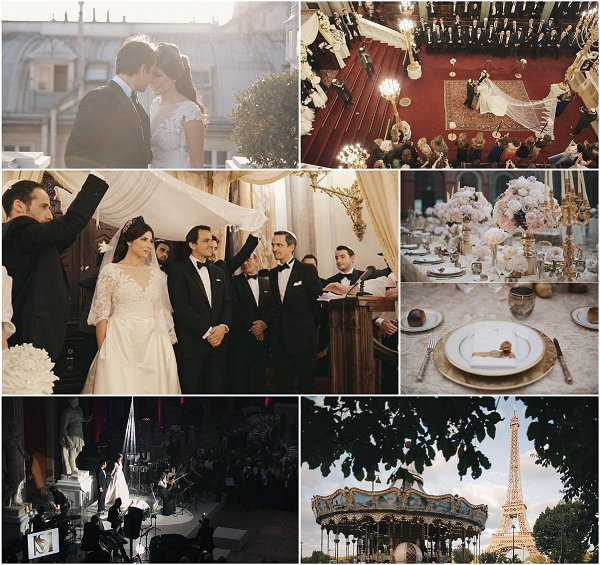 Lavish Jewish Wedding in Paris Snapshot