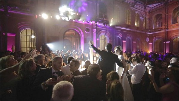 Partying the night away at Ecole Des Beaux Arts in Paris