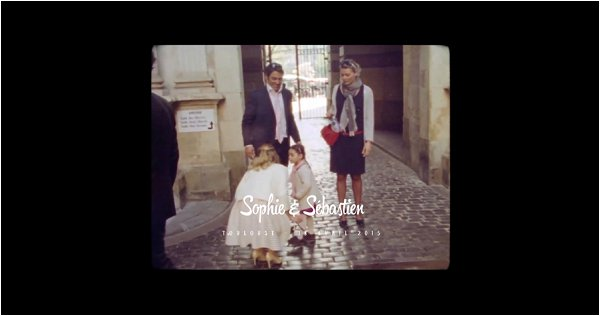 Super 8 Wedding Film France