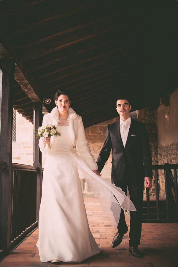 Winter Wedding at Chateau De Montrouge