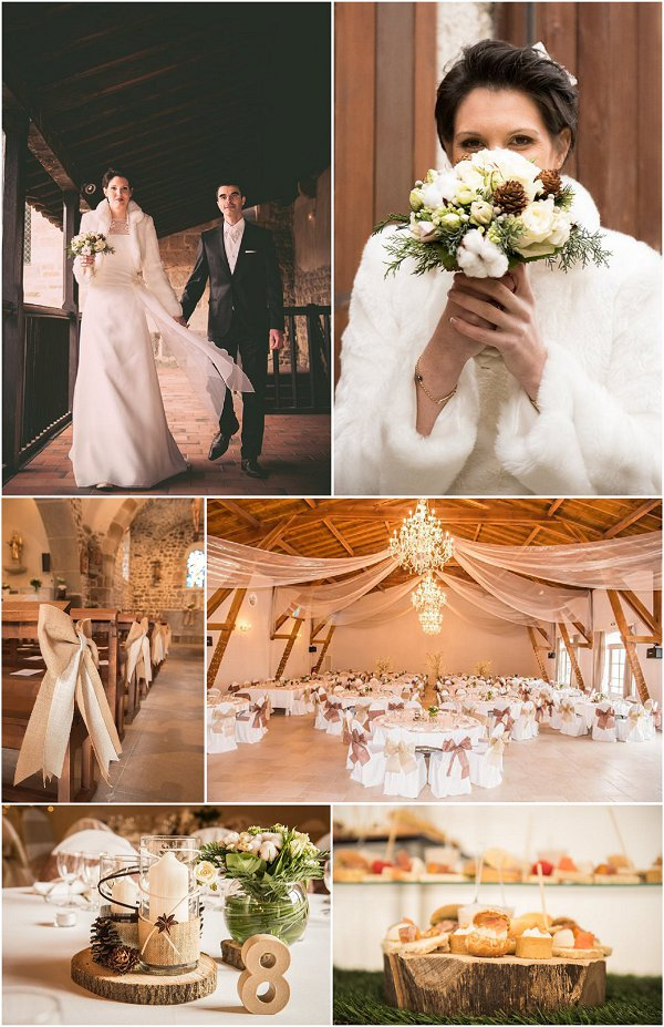 Winter Wedding at Chateau de Montrouge Snapshot
