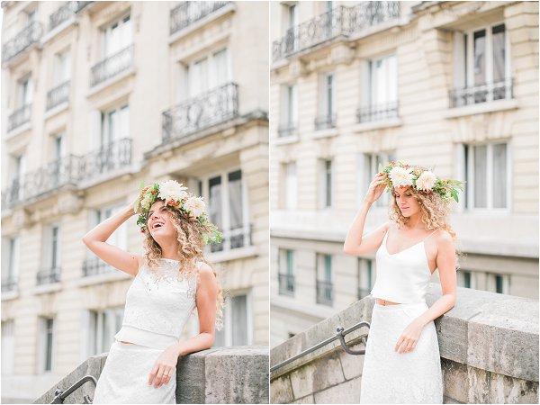 boho and rock bridal style