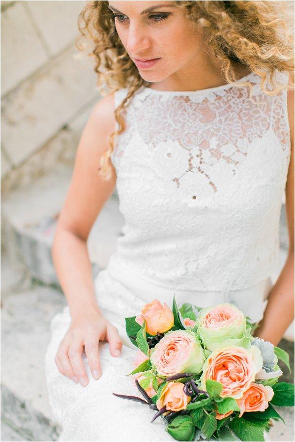 boho chick inspired bride