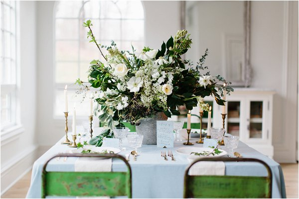 rustic chairs for an elegant wedding