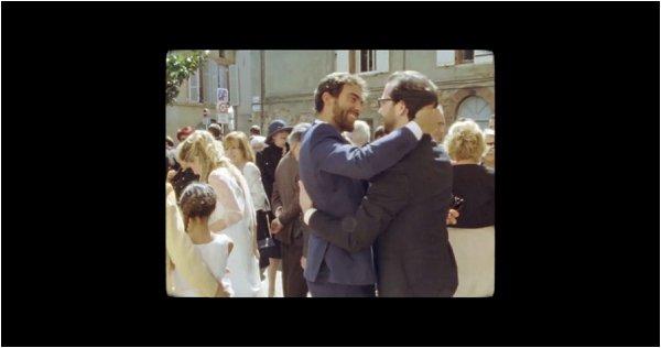 vintage wedding film France