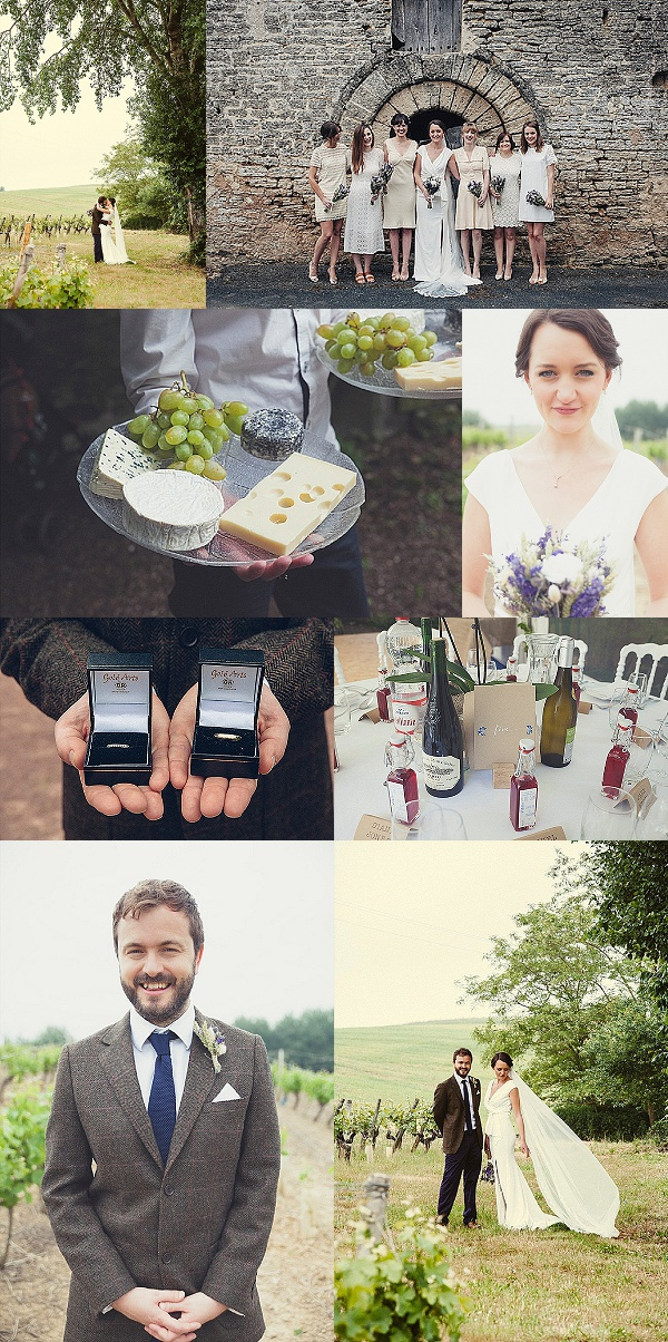 A Relaxed DIY Home Wedding in France