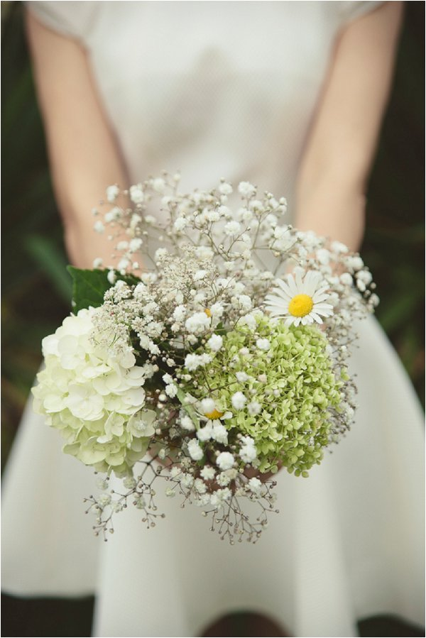 babys breath bridal bouquet