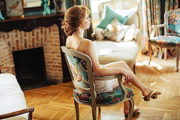 Bridal suite provence wedding venue