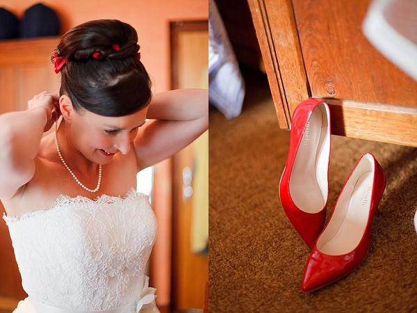 Bridal wedding details