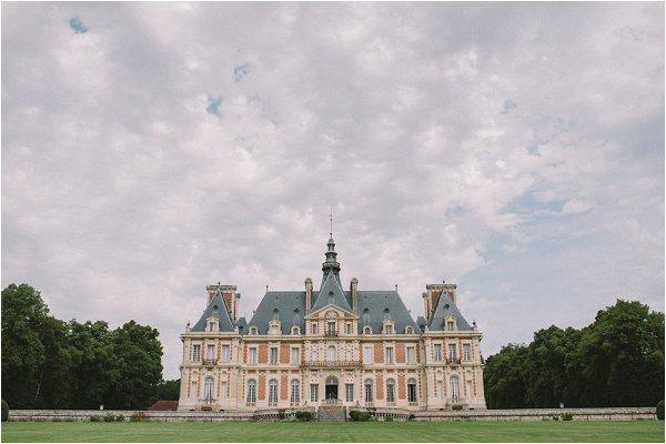 Chateau de Baronville just outside Paris