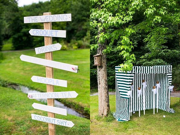 DIY wedding sign wood