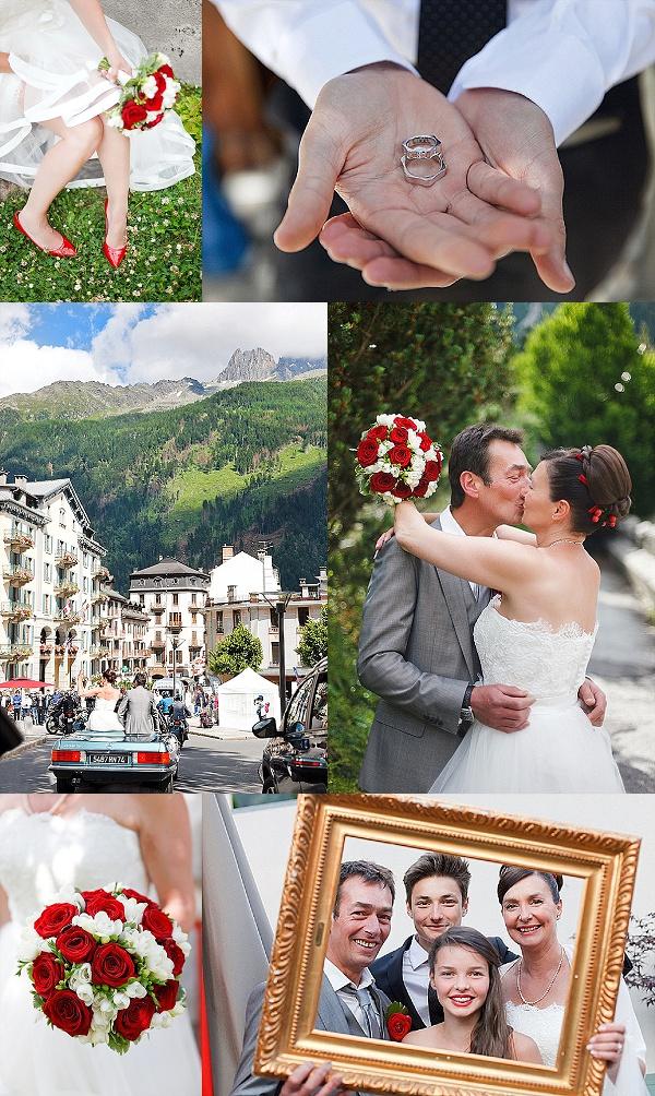 Family Wedding in Chamonix Snapshot