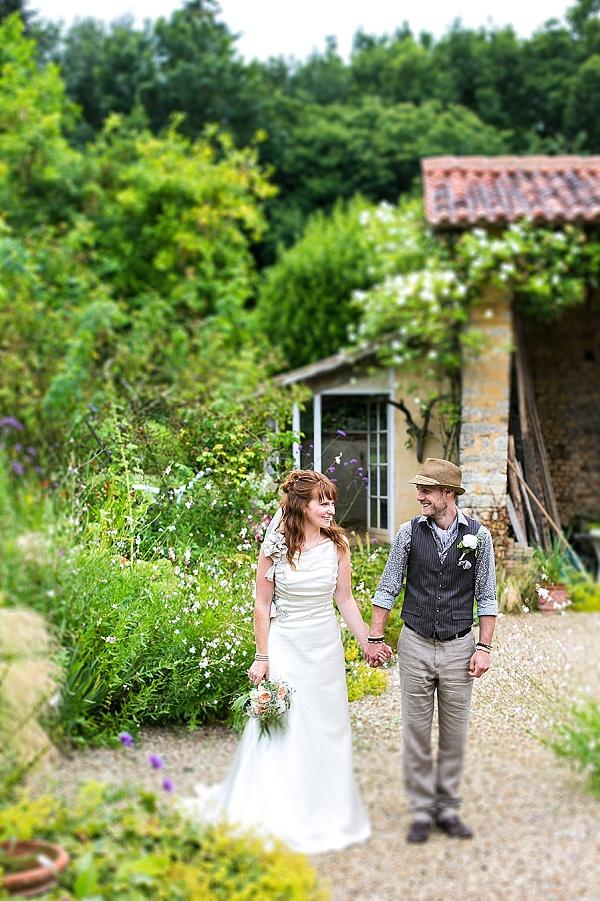 Garden party wedding in France