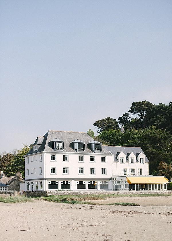Hotel de la plage brittany