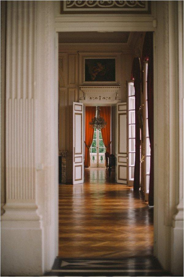 Interior of Chateau de Baronville