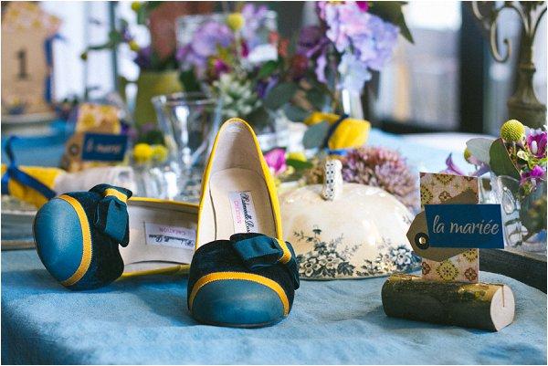 Mademoiselle Rose wedding shoes