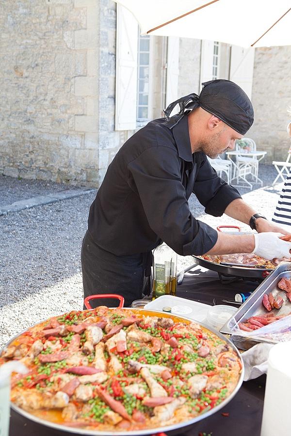 Paella wedding food
