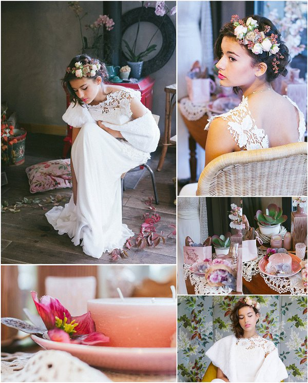 Powder Rose Wedding Inspiration Snapshot