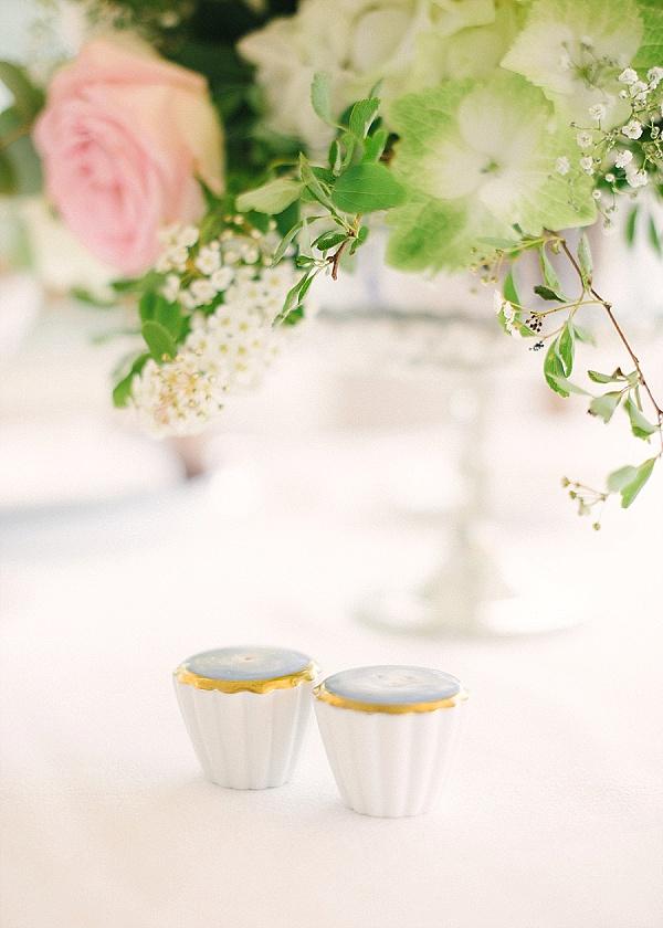 Pretty little table favours wedding