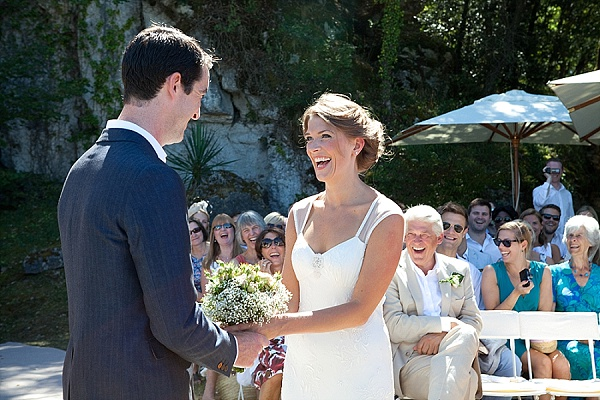 Real life wedding in Dordogne