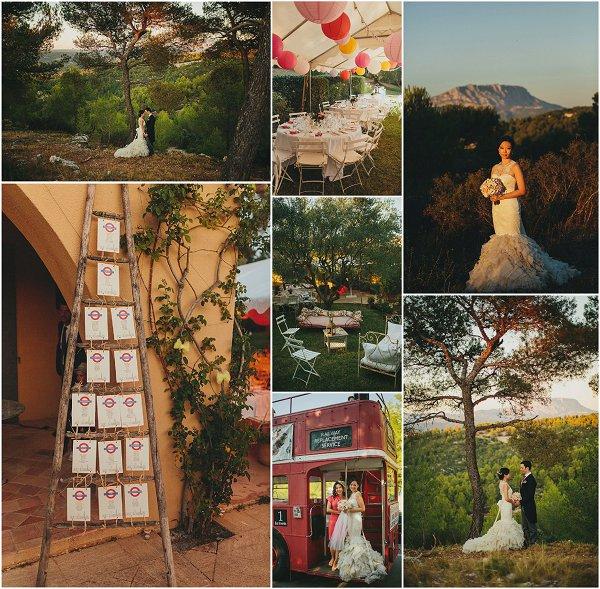 Real wedding in Aix en Provence