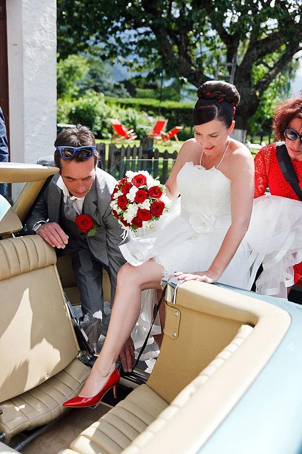 Real wedding in Chamonix