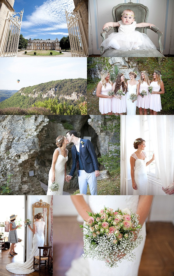 Relaxed Romantic Wedding in Dordogne Valley Snapshot