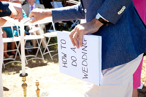 Relaxed wedding in France