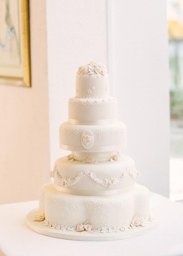 Stunning 5 Tier wedding cake