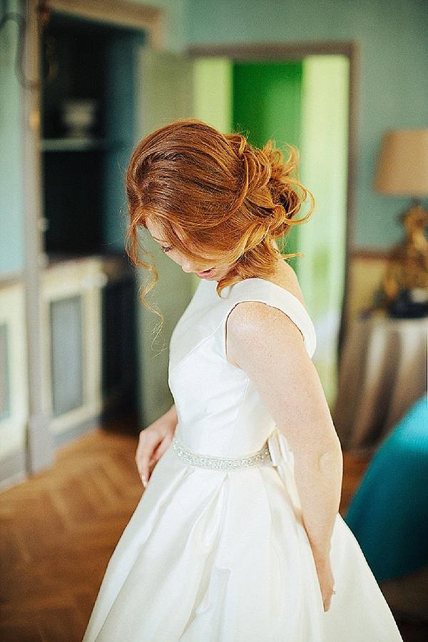 Stunning Rosa Clara wedding gown
