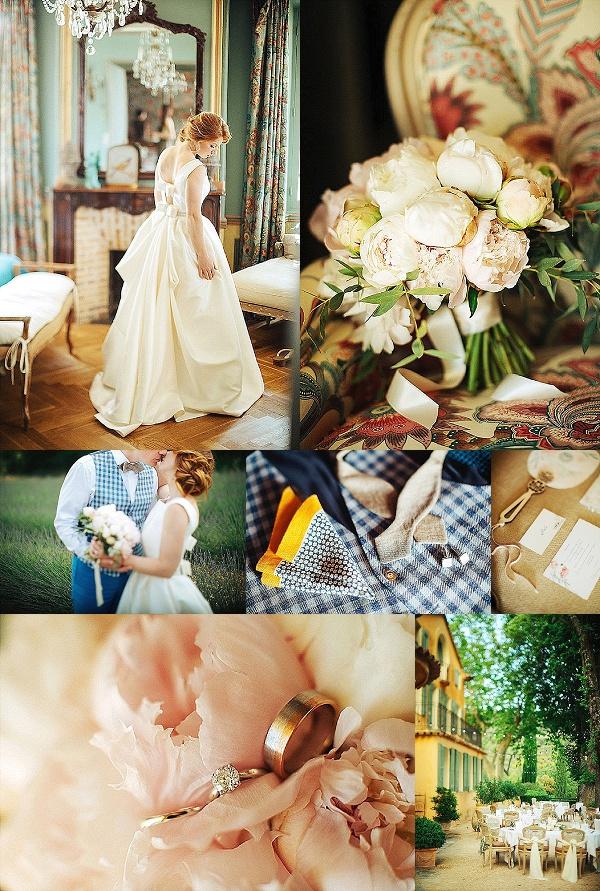 Sweet & Rustic Provencal Wedding Snapshot