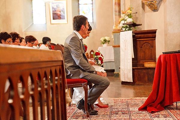 Traditional French wedding ceremony
