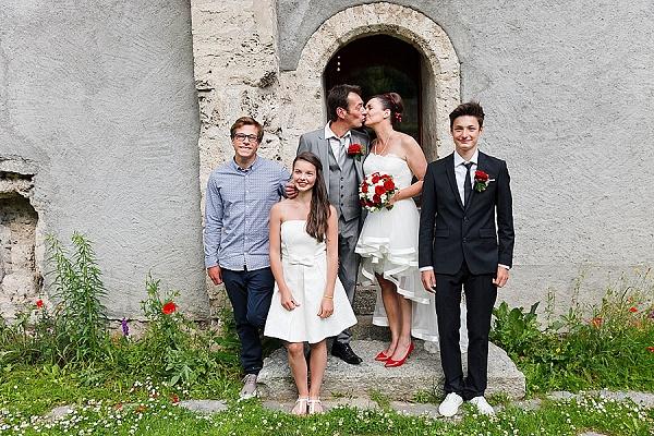 Traditional French wedding in Chamonix