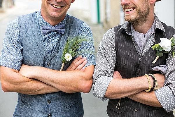 Unique groomsmen style