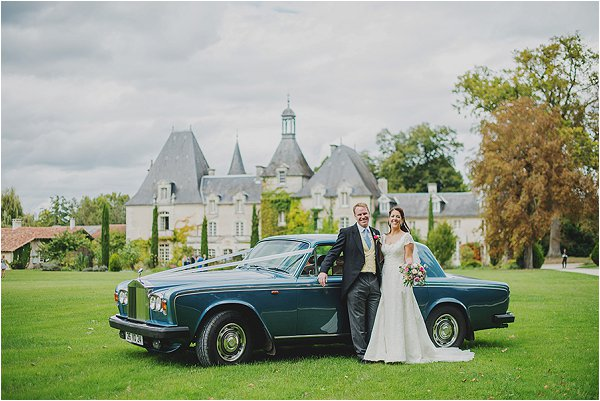 blue Rolls Royce for weddings