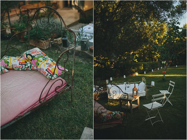 creating an at home wedding