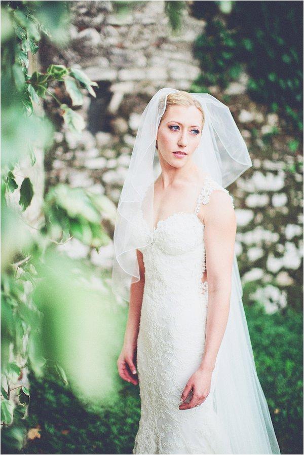 elegant and romantic wedding dress