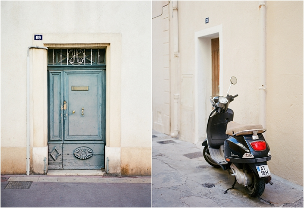exploring the streets of St Tropez