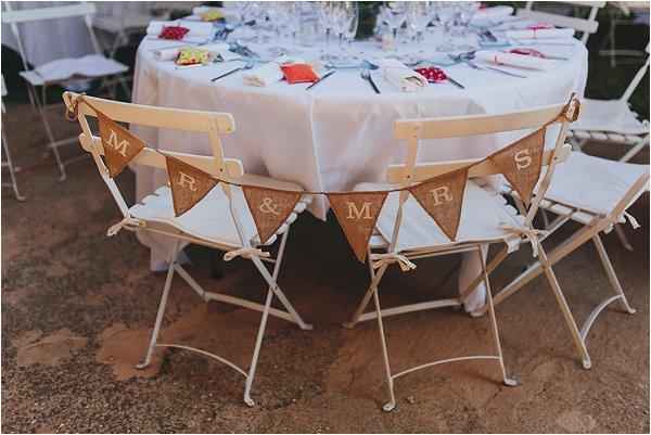 garden wedding style