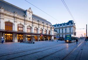 Bordeaux Train station