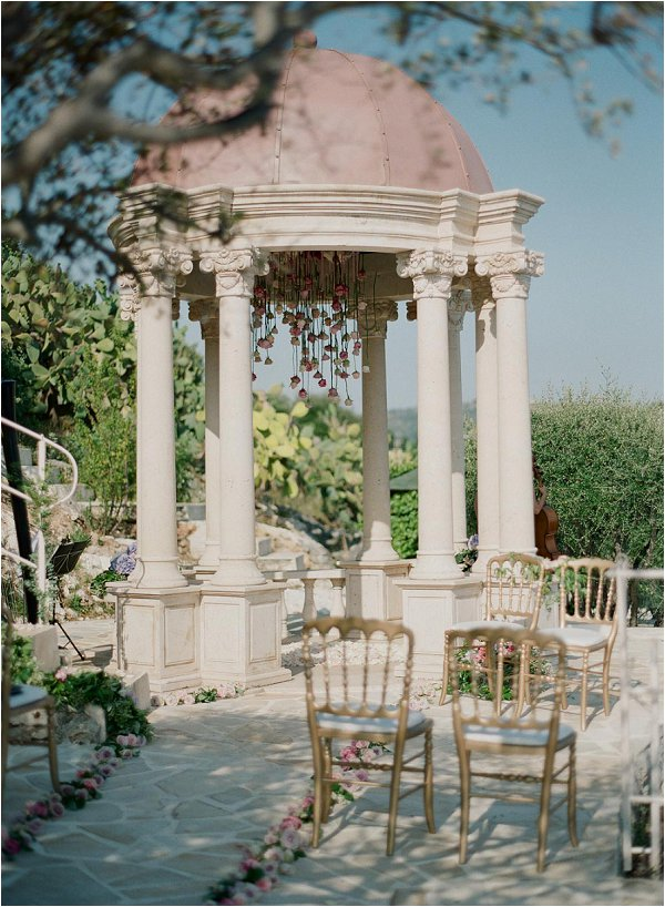 INTIMATE WEDDING CEREMONY AT CHATEAU DE LA CHEVRE D'OR