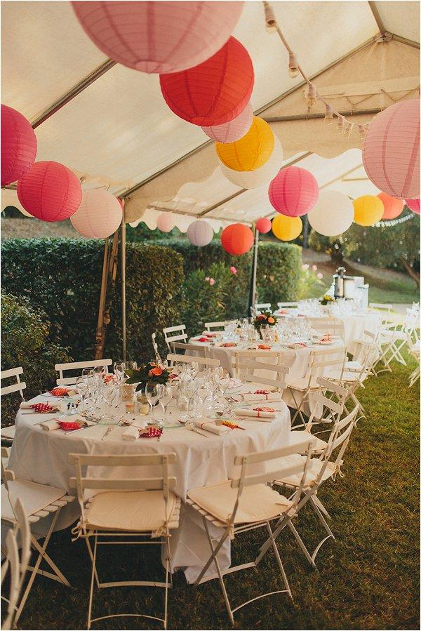 marquee wedding France