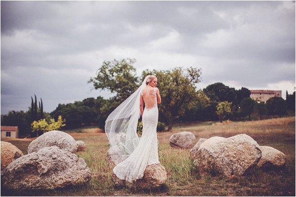 real bride in Galia Lahav