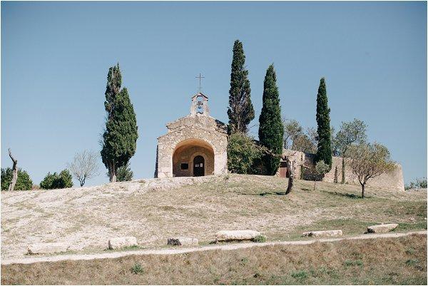 roman chapel in Provence