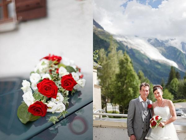 rustic wedding venue in Chamonix