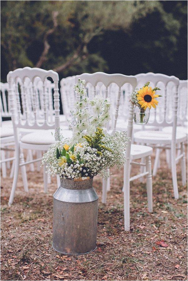 spring wedding flower decorations
