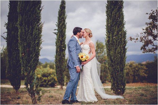 stylish wedding in Provence