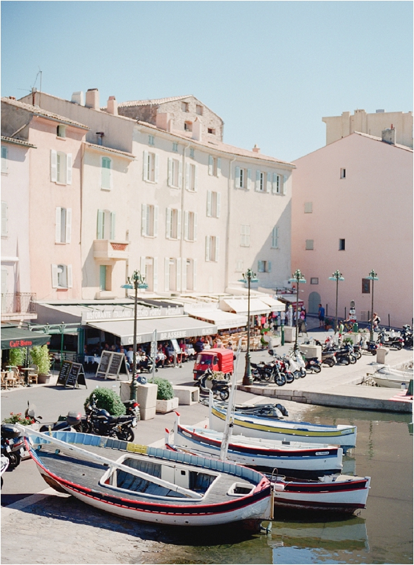 visiting Saint Tropez